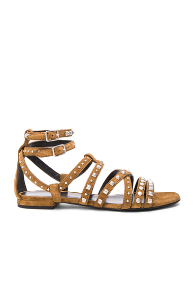 Suede Multistud Nu Pieds Sandals