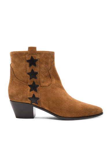 Rock Suede & Leather Boots