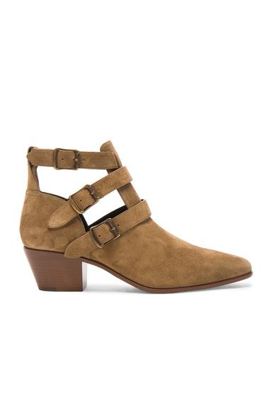 Suede Rock Boots