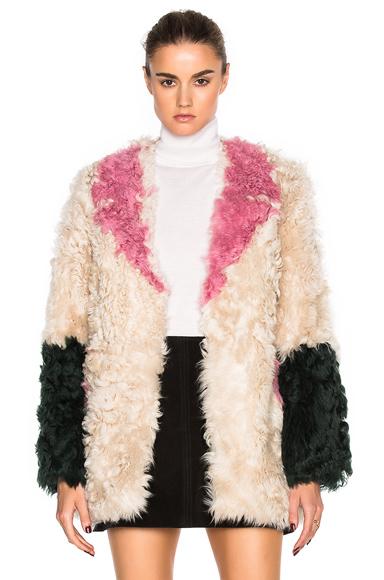 Ermie Lamb Fur Coat