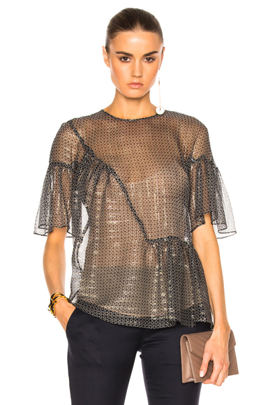 Silk Lurex Top