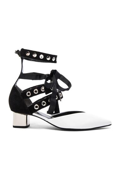 x Robert Clergerie Patent Leather Susa Kitten Heels