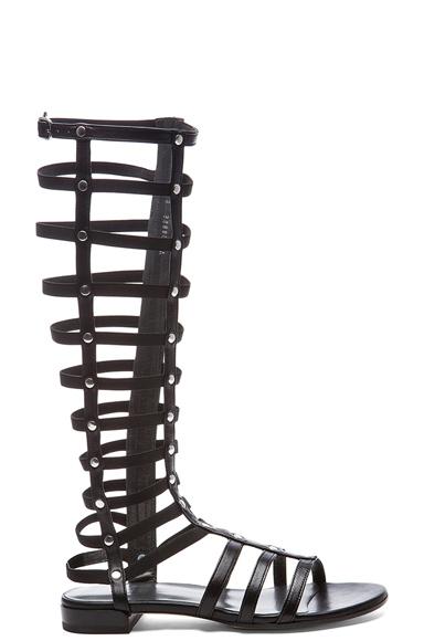 Nappa Leather Gladiator Sandals