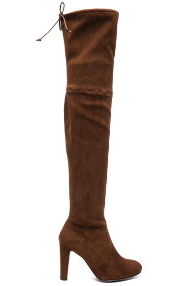 Suede Highland Boots