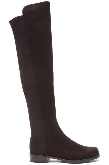 50/50 Suede & Neoprene Boots