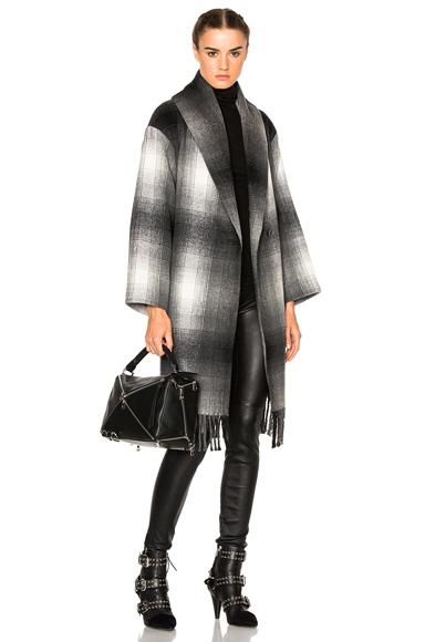 Oversized Shawl Coat