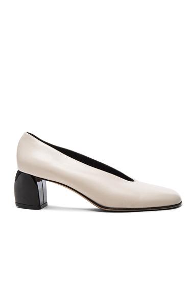 Leather Gene Heels