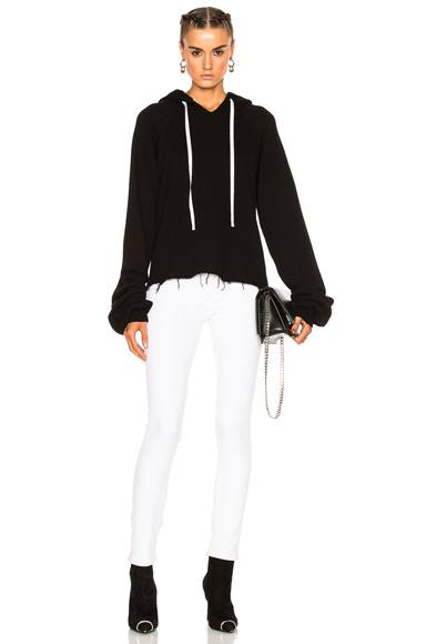 for FWRD Oversize Sleeve Cashmere Hoodie