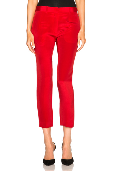 Crepe Moroccan Slim Trousers
