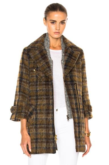 Mystic Coat with Grey Dickey
