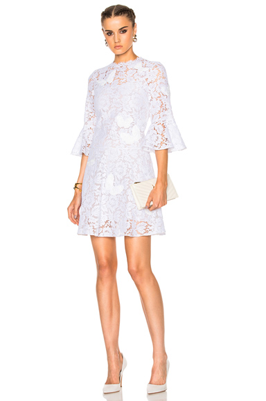 Embroidered Lace Dress