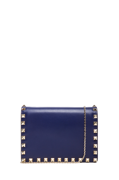 Small Rockstud Flap Bag with Chain