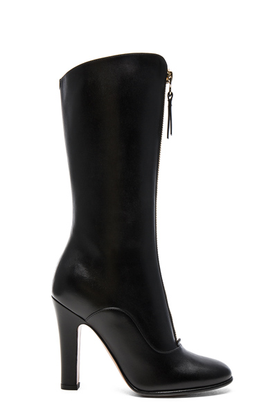 Leather Rebelle 100MM Boots