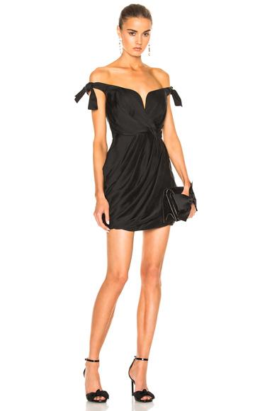 Winsome Drape Cocktail Dress