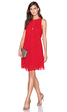 Trapeze Dress en Crimson Berry
