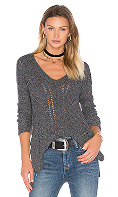 Modanna V Neck Sweater en Pepper