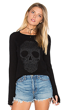 Anushka Skull Sweater – 黑色