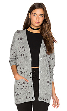 Starry Oversized Cardigan – 青灰色