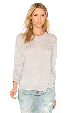 Lucina Crew Neck Sweater in Fog