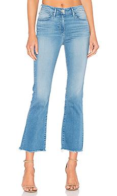 MIDWAY 七分牛仔靴裤