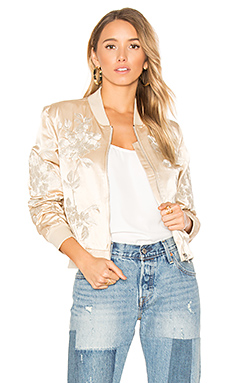 Suka Bomber Jacket in Champagne