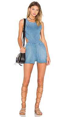 Cut Out Romper en Santorini