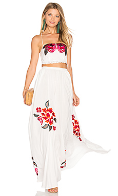 Boho Dress Set in Moonlight White