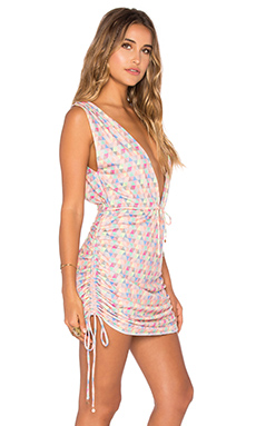 Travelers Cover Up Dress in Libre Geo
