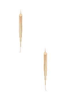 Eden Drop Earrings in Gold