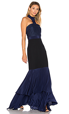 Colette Dress in Navy Blue