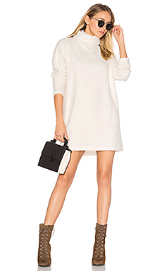 Dakota Dress in Cozy Cream Fleece