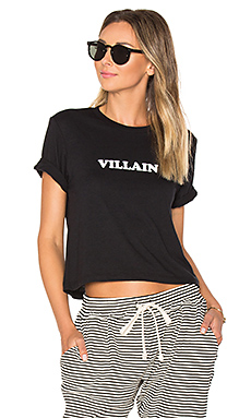 T-SHIRT CROPPED VILLAIN BROTHERS