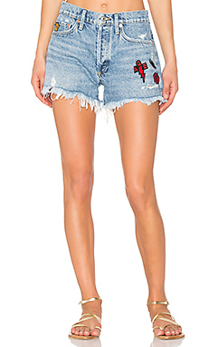 Parker Vintage Cut Off Short in Patch Swapmeet