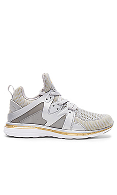 Ascend Sneaker en Metallic Silver & Gold