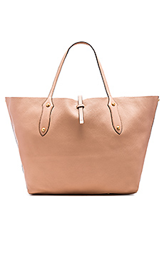 Isabella Large Tote Bag in Almond