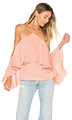 Princess Frill Top in Blush