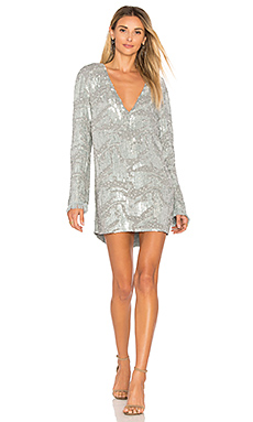 Odyssey Sequin Dress in Silver