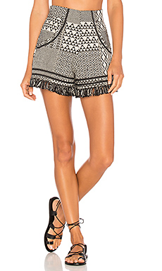 Daniela Shorts in Tribal Ink