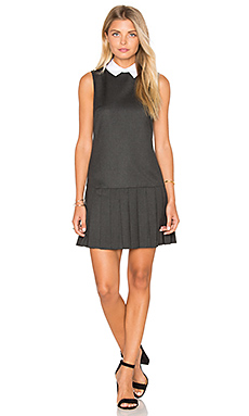 Alice Dress in Dark Charcoal