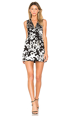 Patty Dress in Black & White