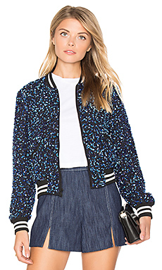 BLOUSON BOMBER CROPPED LONNIE