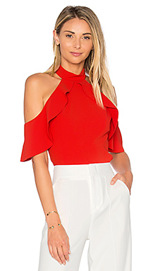 Cabot Top in Poppy
