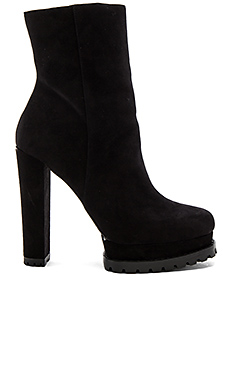 Holden PlatformSheep Fur Lined Boot en Noir