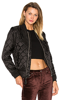 MA-1 Diamond W Bomber in Black