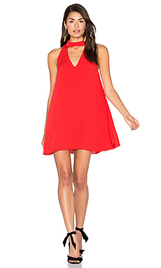 Cassia Dress in Candy Apple
