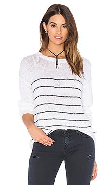 Umatilla Sweater – White Striped Carbon