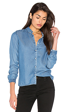 Tappa Hannock Button Up en Washed Bleu