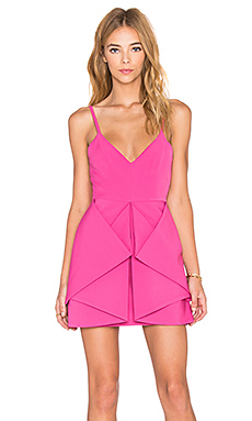 Vipery Mini Dress in Pink