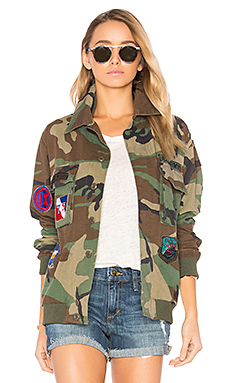 Military Vintage Jacket en Camouflage