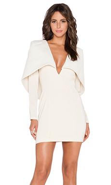 Almost Famous Dress in Nude